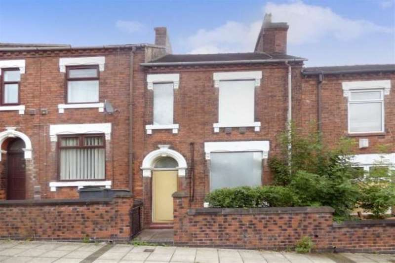 2 Bedrooms Terraced House for sale in Gilman Street, Stoke-On-Trent, ST1