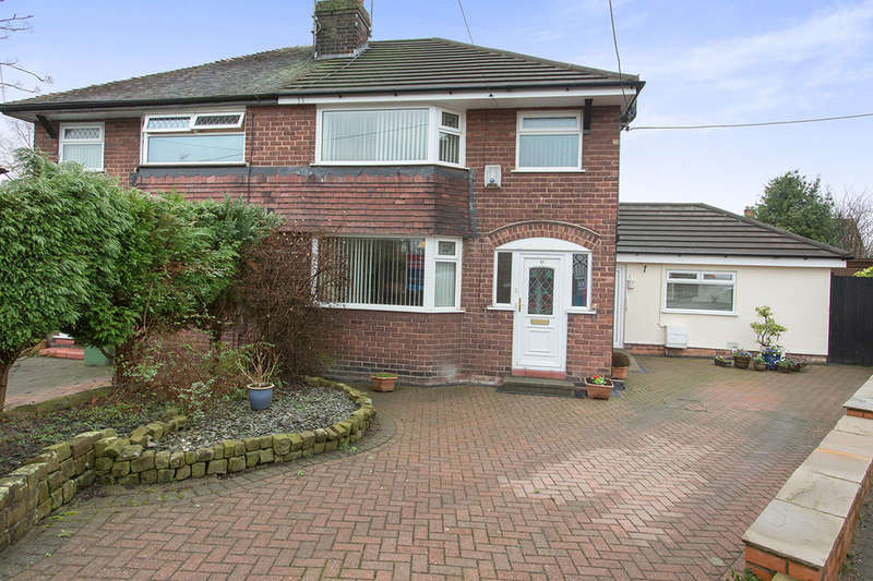 3 Bedrooms Semi Detached House for sale in Whitley Avenue, Barnton, Northwich, CW8