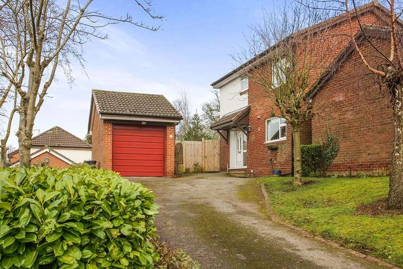 4 Bedrooms Detached House for sale in Huntersfield, Northwich, CW8