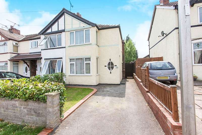 2 Bedrooms Semi Detached House for sale in Cromwell Road, Northwich, CW8