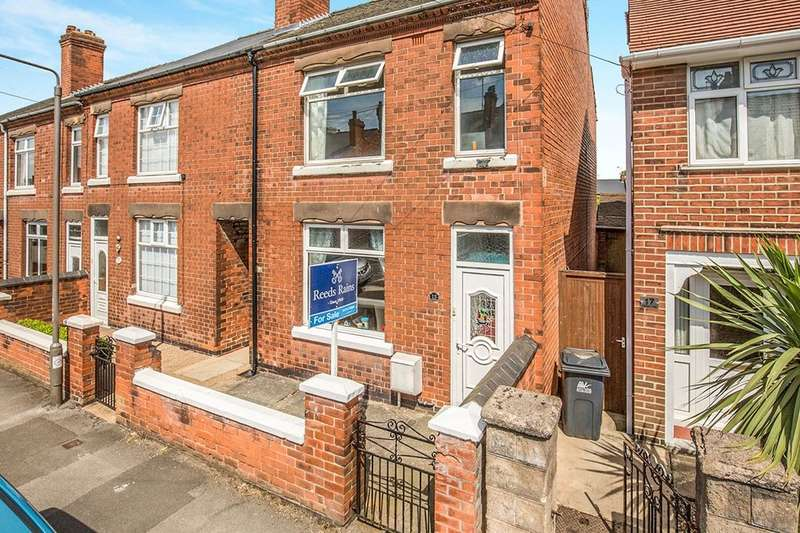 3 Bedrooms Terraced House for sale in Dannah Street, Ripley, DE5