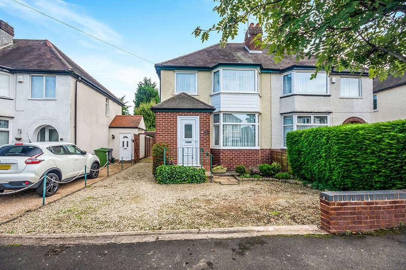 3 Bedrooms Semi Detached House for sale in Regent Road, Wolverhampton, WV4