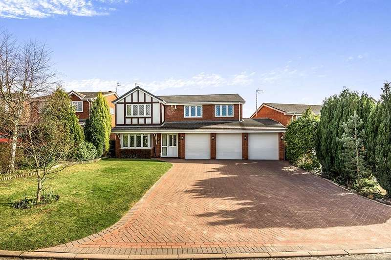 5 Bedrooms Detached House for sale in Cranmore Grove, Stone, ST15
