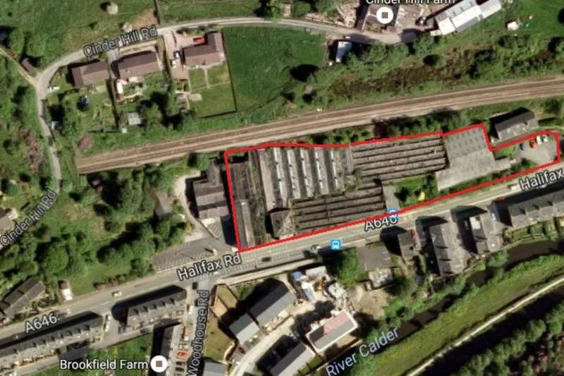 Land Commercial for sale in Land At Cinderhill Mill Halifax Road, Todmorden, OL14