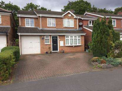 4 Bedrooms Detached House for sale in Trustin Crescent, Solihull, West Midlands