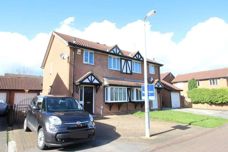 3 Bedrooms Semi Detached House for sale in Orkney Close, Hull, HU8