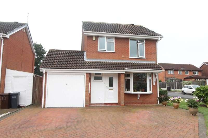 3 Bedrooms Detached House for sale in Shelsley Way, Hillfield, Solihull