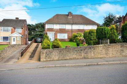 3 Bedrooms Semi Detached House for sale in Berry Hill Road, Mansfield, Nottinghamshire