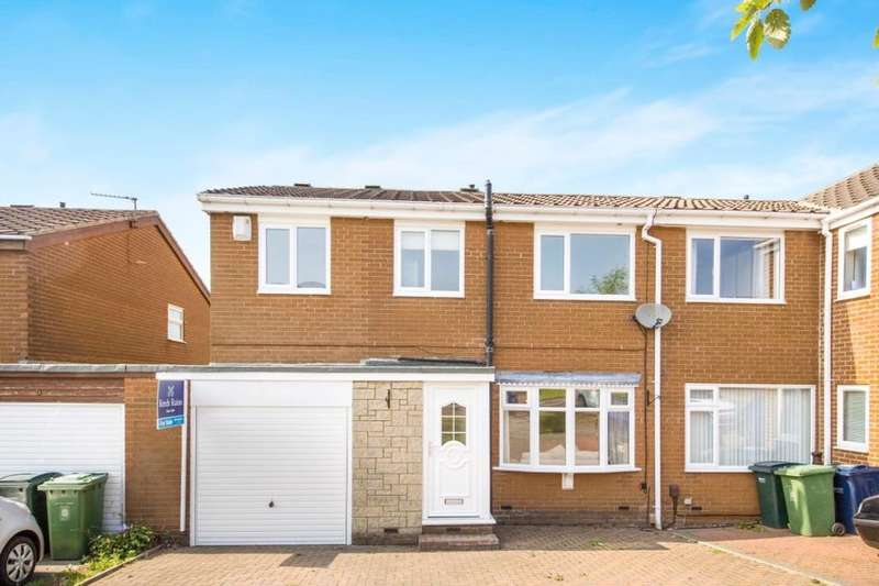 4 Bedrooms Semi Detached House for sale in Oakridge, Whickham, Newcastle Upon Tyne, NE16