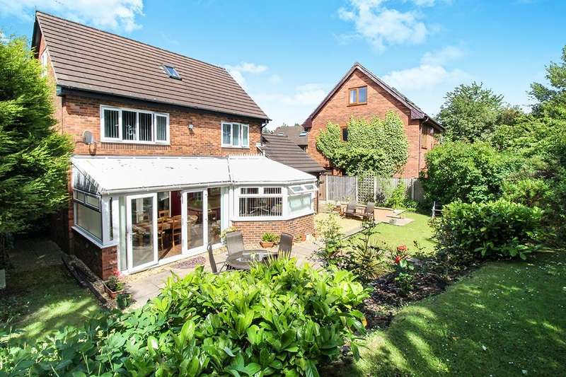 4 Bedrooms Detached House for sale in Willow Walk, Skelmersdale, WN8