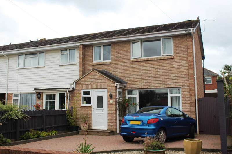 3 Bedrooms End Of Terrace House for sale in The Hollows, Exmouth