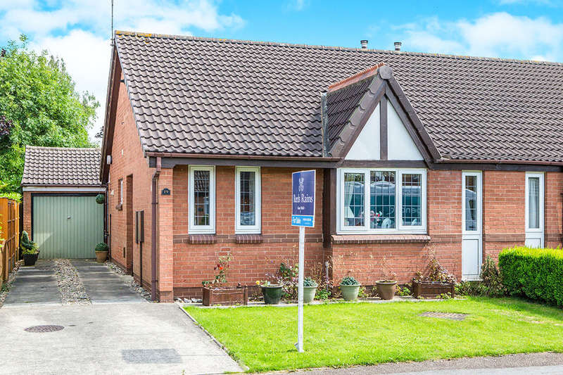 2 Bedrooms Semi Detached Bungalow for sale in Lanshaw Croft, York, YO30