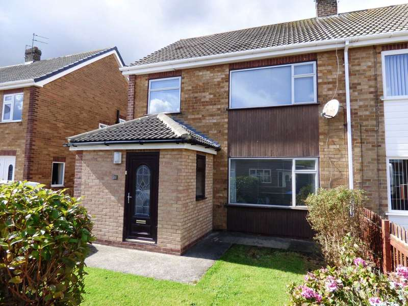 3 Bedrooms Semi Detached House for sale in Ascot Road, Redcar