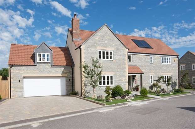 5 Bedrooms Detached House for sale in The Levels, Meare, Glastonbury