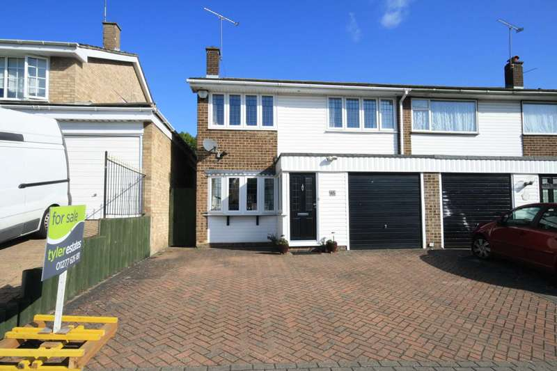 3 Bedrooms Semi Detached House for sale in Meadow Rise, Billericay