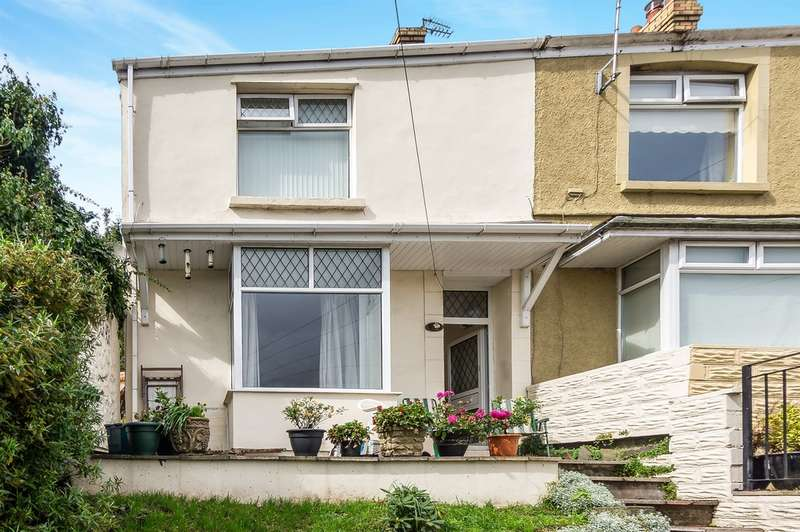 3 Bedrooms End Of Terrace House for sale in Kinley Street, St. Thomas, Swansea