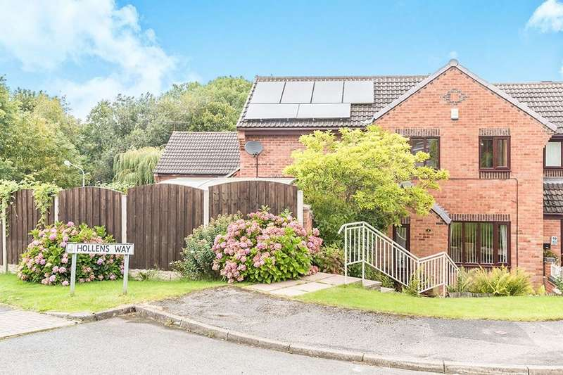 3 Bedrooms Semi Detached House for sale in Ravenswood Road, Chesterfield, S40