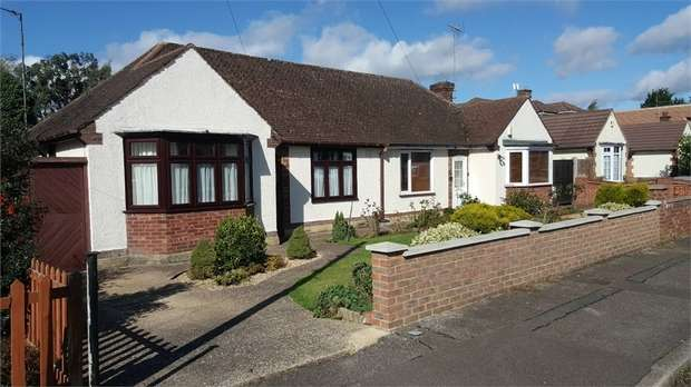 3 Bedrooms Semi Detached Bungalow for sale in Ryecroft Way, Luton, Bedfordshire