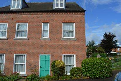 3 Bedrooms End Of Terrace House for sale in Cleveland Mews, Beacon Street, Lichfield