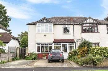 4 Bedrooms Semi Detached House for sale in Highfield Road, Bickley, Bromley, Kent, BR1 2JW