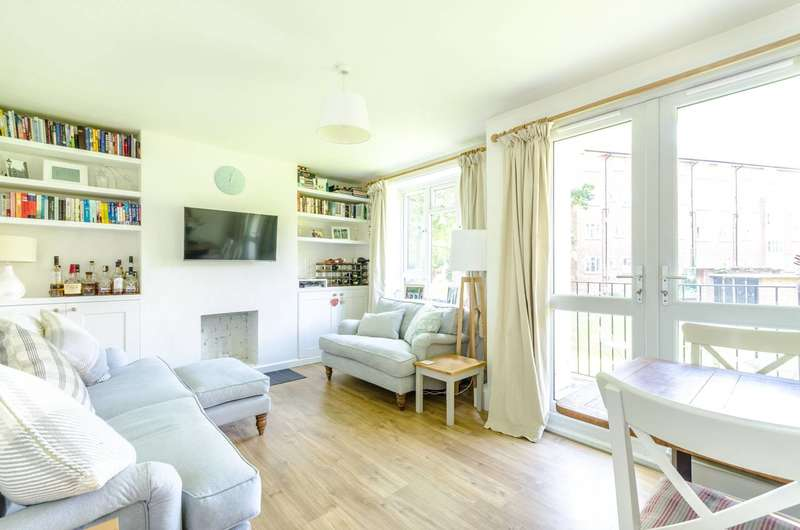 2 Bedrooms Flat for sale in Whitnell Way, Putney, SW15
