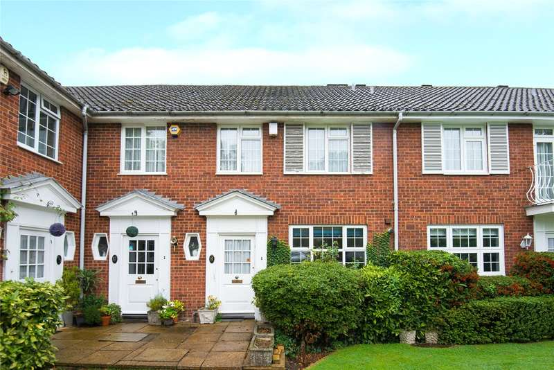 3 Bedrooms Terraced House for sale in Sunningdale Close, Stanmore, HA7