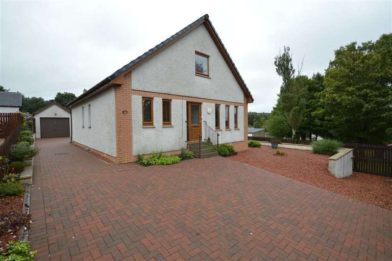 4 Bedrooms Detached House for sale in Balmoral Crescent, Carstairs Junction, Carnwath