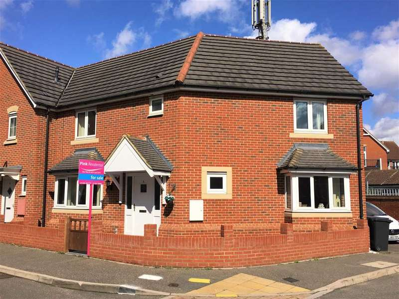 3 Bedrooms Semi Detached House for sale in Rosseter Close, Great Baddow