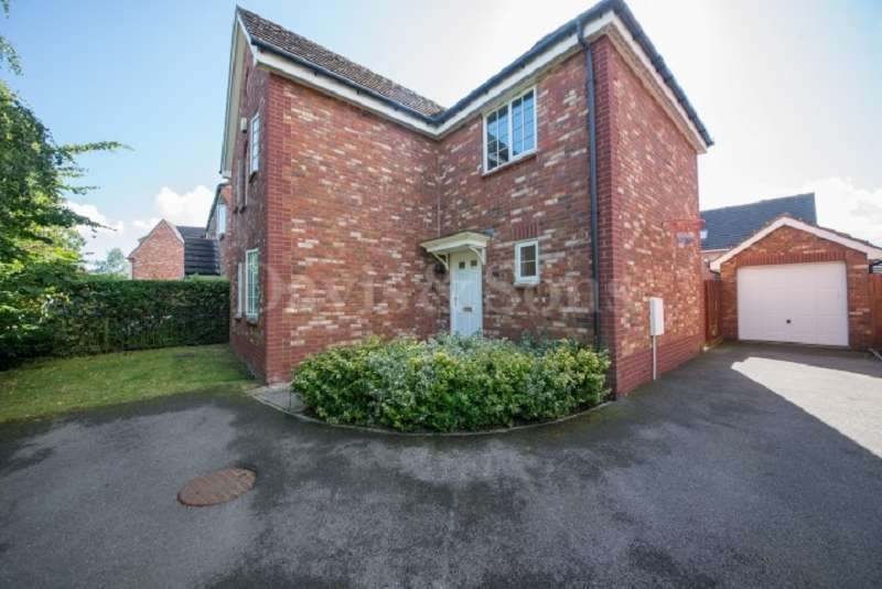 4 Bedrooms Detached House for sale in Grosmont Way, Celtic Horizon, Newport. NP10 8UQ