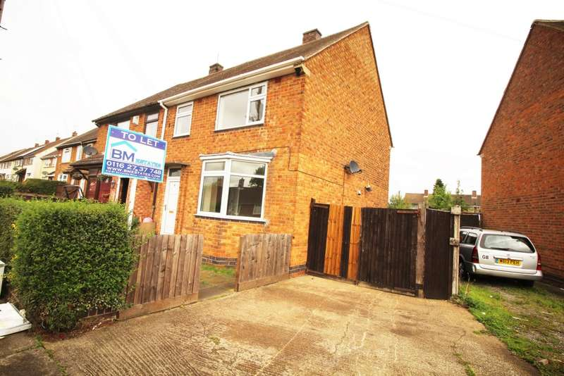 3 Bedrooms Semi Detached House for sale in Bringhurst Road, Leicester, LE3
