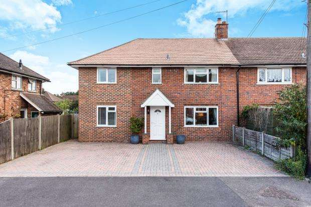 4 Bedrooms End Of Terrace House for sale in Chobham, Woking, Surrey