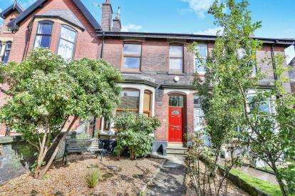 4 Bedrooms Terraced House for sale in Tottington Road, Bury, Greater Manchester, Lancs, BL8