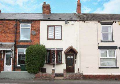 2 Bedrooms Terraced House for sale in Alexandra Road, Swallownest, Sheffield, South Yorkshire
