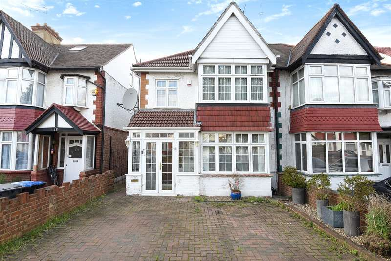 3 Bedrooms Semi Detached House for sale in The Dene, Wembley, Middlesex, HA9