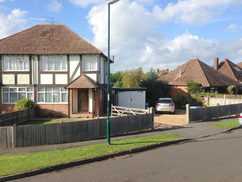3 Bedrooms Semi Detached House for sale in Brazwick Avenue, North Bersted, Bognor Regis, West Sussex, PO21 5DY