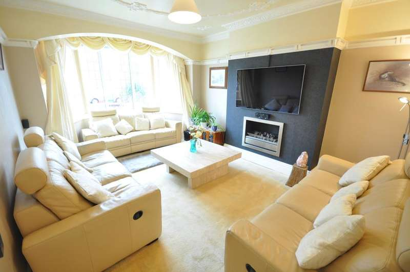 4 Bedrooms Semi Detached House for sale in Rowsley Road, St Annes, Lytham St Annes, Lancashire, FY8 2NT
