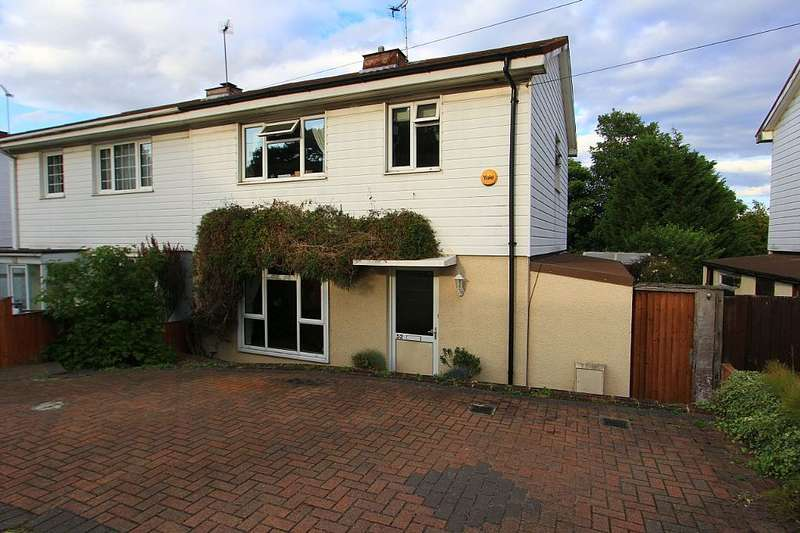 3 Bedrooms Semi Detached House for sale in Sunnyside Road, Epping, Essex