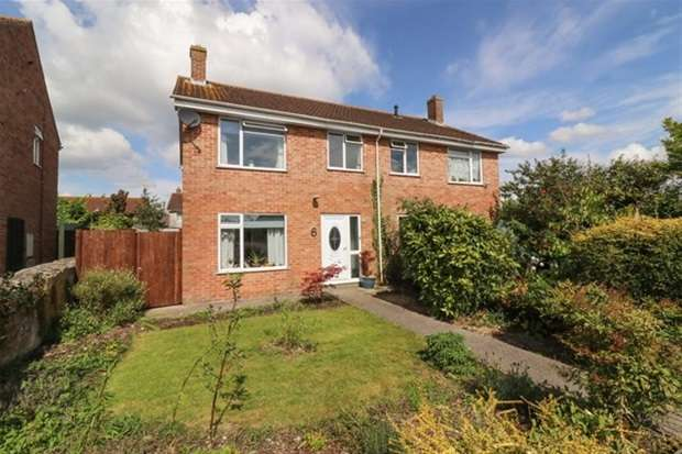 3 Bedrooms Semi Detached House for sale in Chancellor Close, Walton, Street