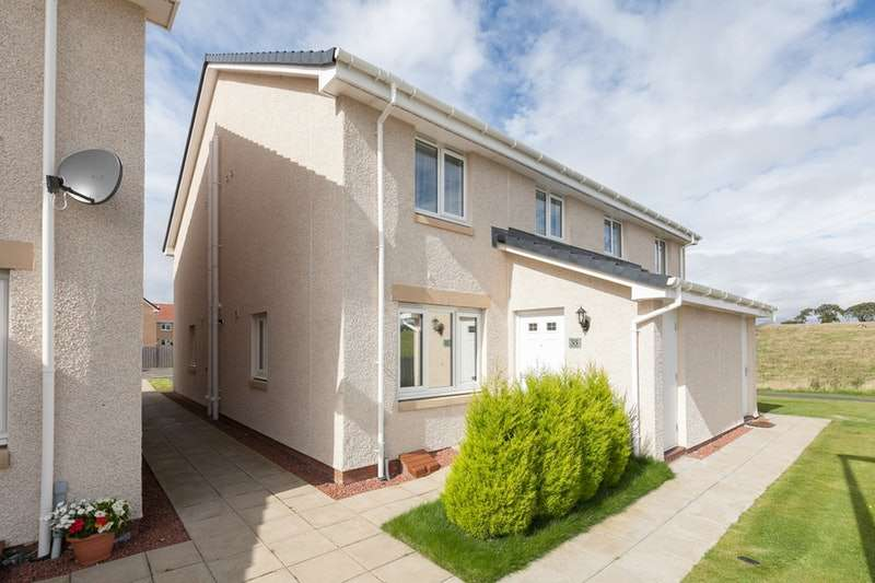 2 Bedrooms Semi Detached House for sale in Kings Seat Place, Falkirk, Stirlingshire, FK2