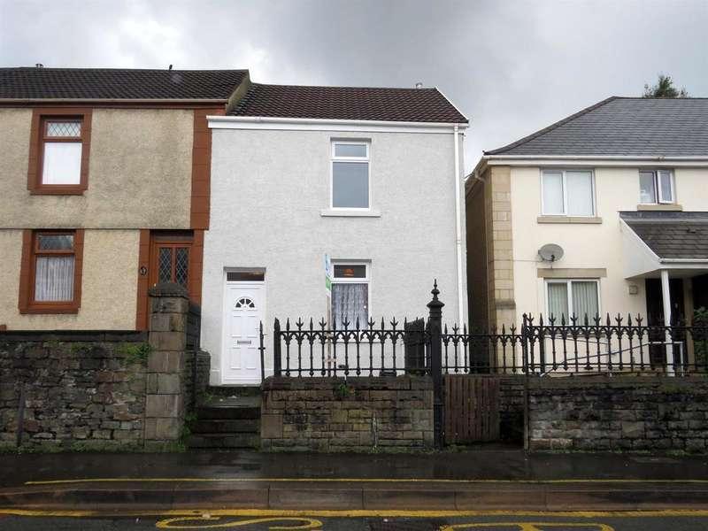 3 Bedrooms End Of Terrace House for sale in Neath Road, Plasmarl, Swansea