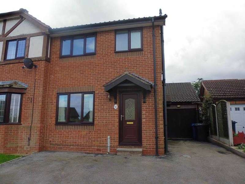 3 Bedrooms Semi Detached House for sale in Spring House Close, Chesterfield