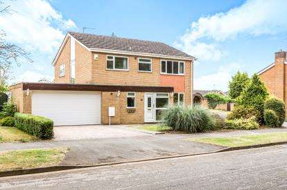 4 Bedrooms Detached House for sale in Fallow Way, Banbury, Oxfordshire