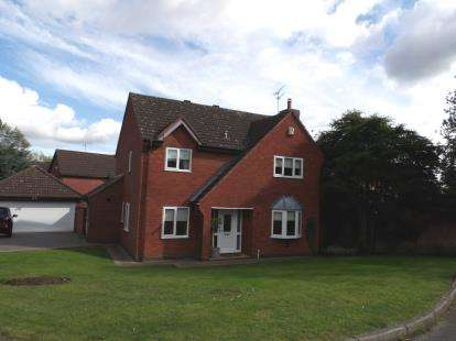 4 Bedrooms Detached House for sale in The Spinney, Mancetter, Atherstone, Warwickshire
