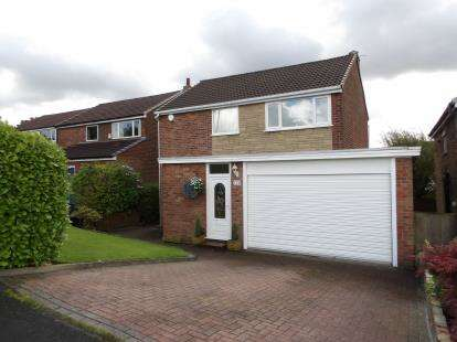 3 Bedrooms Detached House for sale in Hough Fold Way, Harwood, Bolton, Greater Manchester, BL2