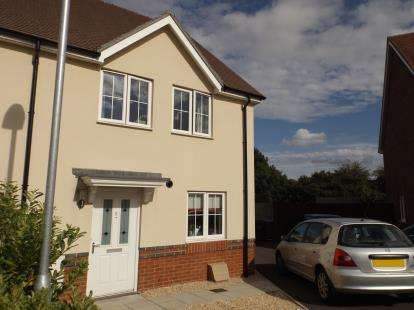 3 Bedrooms Semi Detached House for sale in Bishopdown, Salisbury, Wiltshire