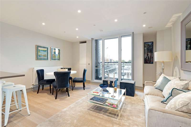 2 Bedrooms Flat for sale in Calico House, Clove Hitch Quay, Battersea, London, SW11