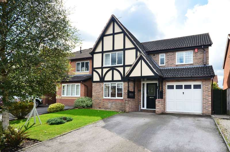 4 Bedrooms Detached House for sale in Suffolk Road, Lightwood, ST3 4TS