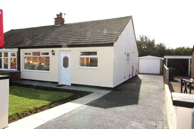 2 Bedrooms Semi Detached Bungalow for sale in Old Hall Drive, Bamber Bridge, Preston, PR5