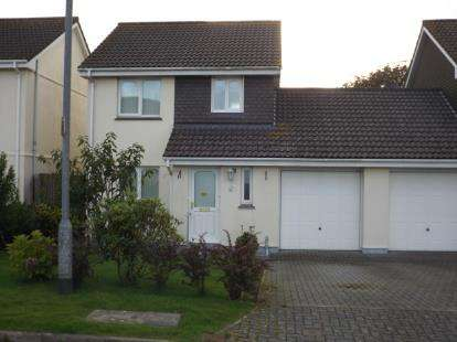 3 Bedrooms Link Detached House for sale in Whitemoor, St.Austell