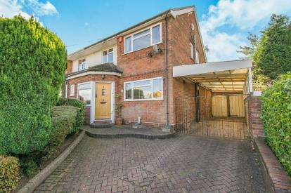3 Bedrooms Semi Detached House for sale in Hundred Acre Road, Streetly, Sutton Coldfield, .